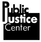 PUBLIC JUSTICE CENTER INC - charity reviews, charity ratings, best charities, best nonprofits, search nonprofits
