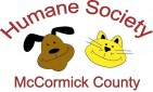 The Humane Society of McCormick County - charity reviews, charity ratings, best charities, best nonprofits, search nonprofits