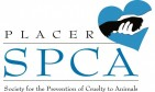 PLACER COUNTY SOCIETY FOR THE PREVENTION OF CRUELTY TO ANIMALS - charity reviews, charity ratings, best charities, best nonprofits, search nonprofits