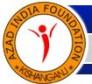 Latest Photo by Azad India Foundation