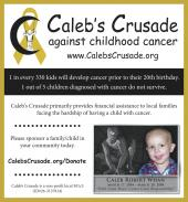 Latest Photo by CALEB S CRUSADE FOR CHILDHOOD CANCER INC