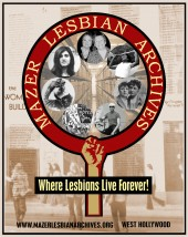 Latest Photo by THE JUNE L MAZER LESBIAN ARCHIVES