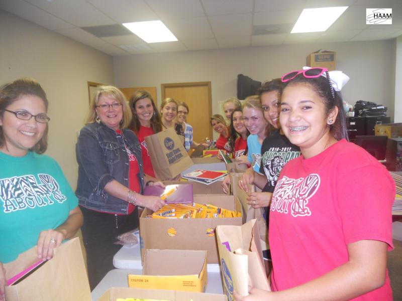 Annual School Supply Drive assists 15,000 families in need per year