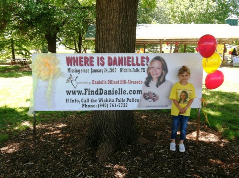 Shining Hope for missing Danielle Alvarado MAY 2012 - TX