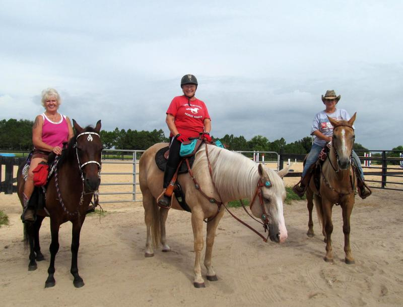 ladies club ready for a trail ride