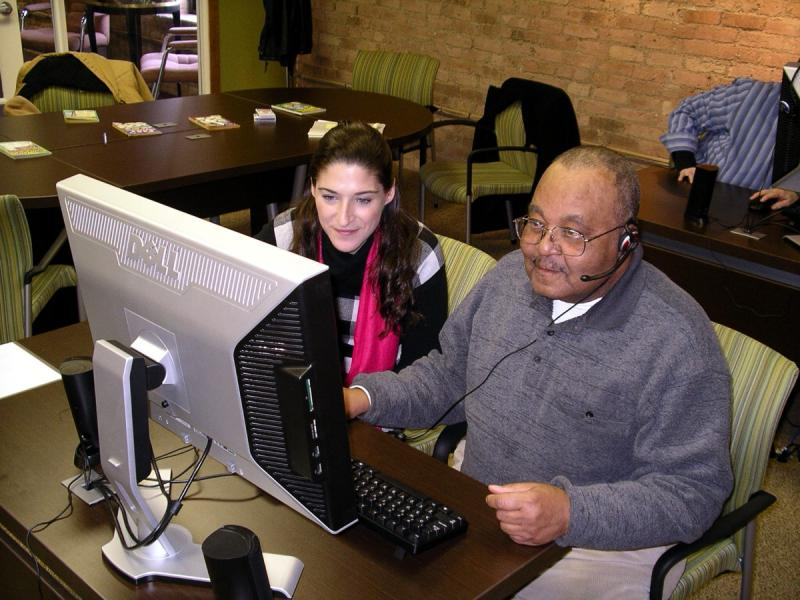 The Brain Fitness Center is open to all seniors to help stimulate memories, friendships, & skills