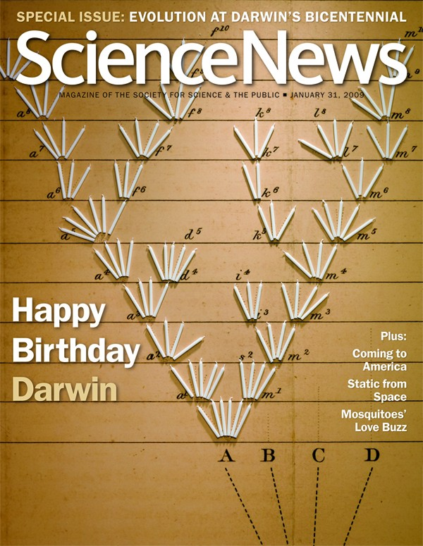 Award winning Science News cover