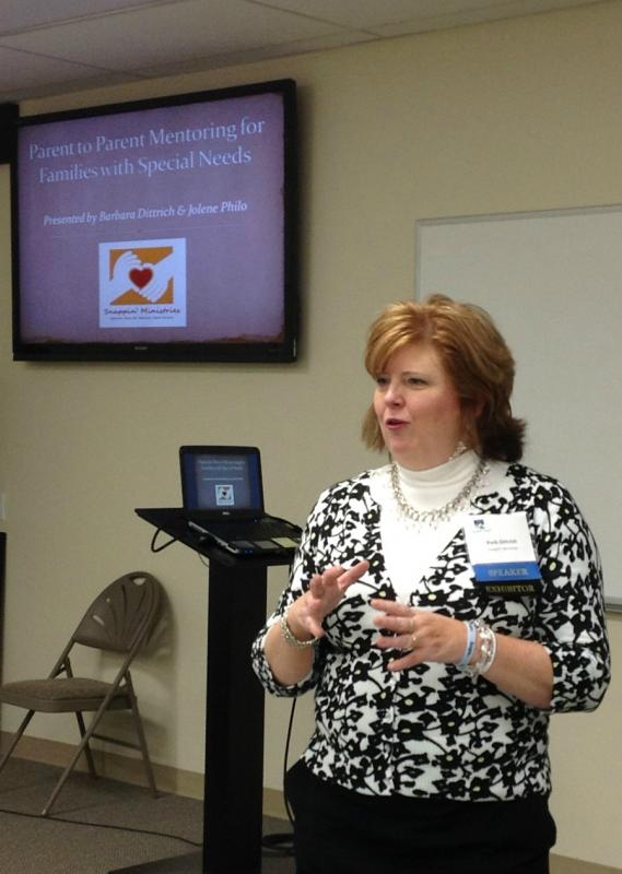 Executive Director & President leads workshop on parent mentors