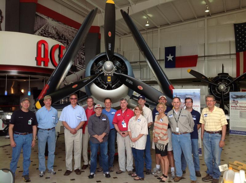 Pilot Fly-In at Ellington Field in Houston