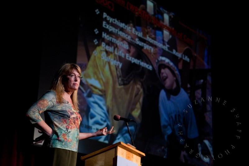 Marci Bowers at Sex and Sensibility Artposium. Photo: Suzanne Shaff