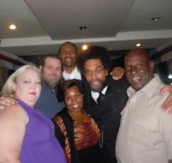 DAWG with Tavis Smiley and Cornell West during the Poverty Tour