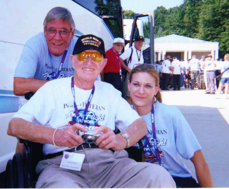 Honor Flight / Washington, DC 8/18/09
