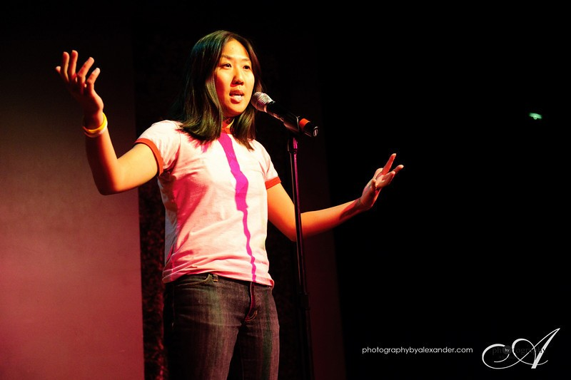 Jennifer Luu telling true story on the theme: