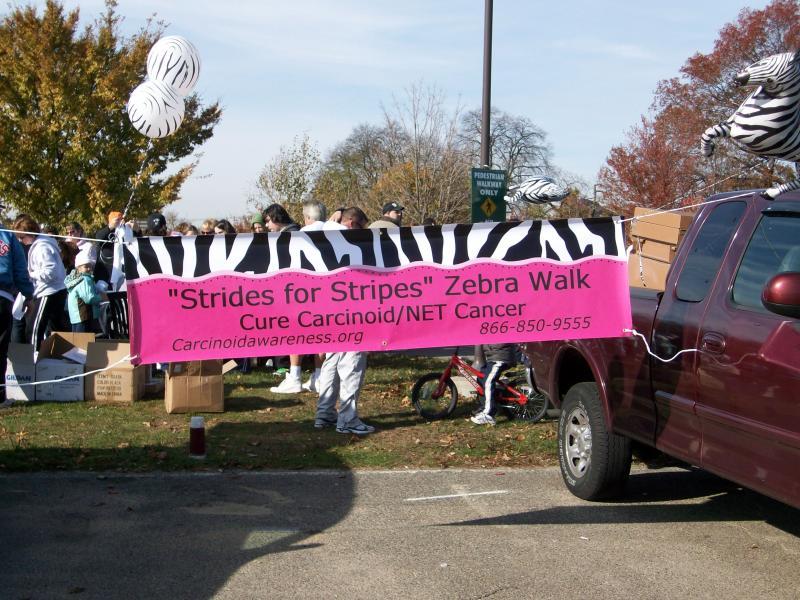 Strides for Stripes Walk