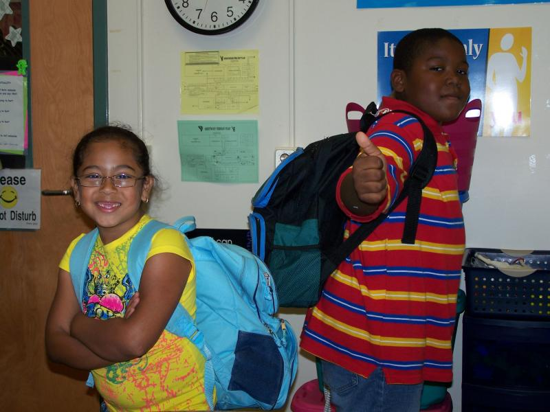 Our BackPack Buddies program sends food-insecure children home with nutritious weekend meals