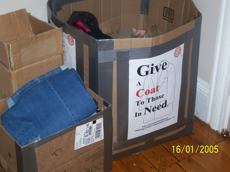 Coat Donation Program