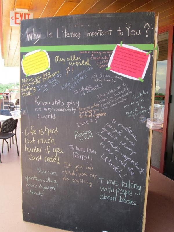 Why is literacy important to you?