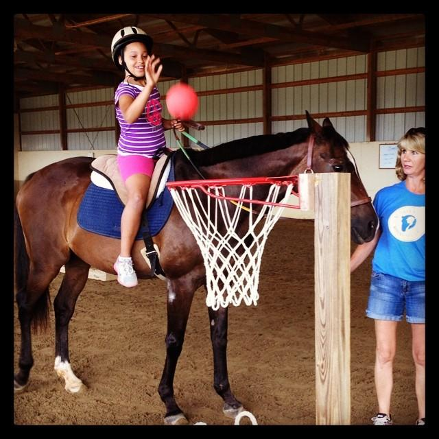 Games on horseback are designed to strengthen muscles, improve coordination, and increase balance