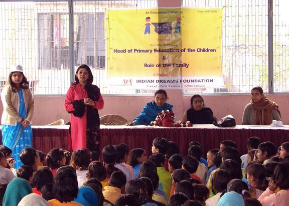 Health & Education awareness workshop