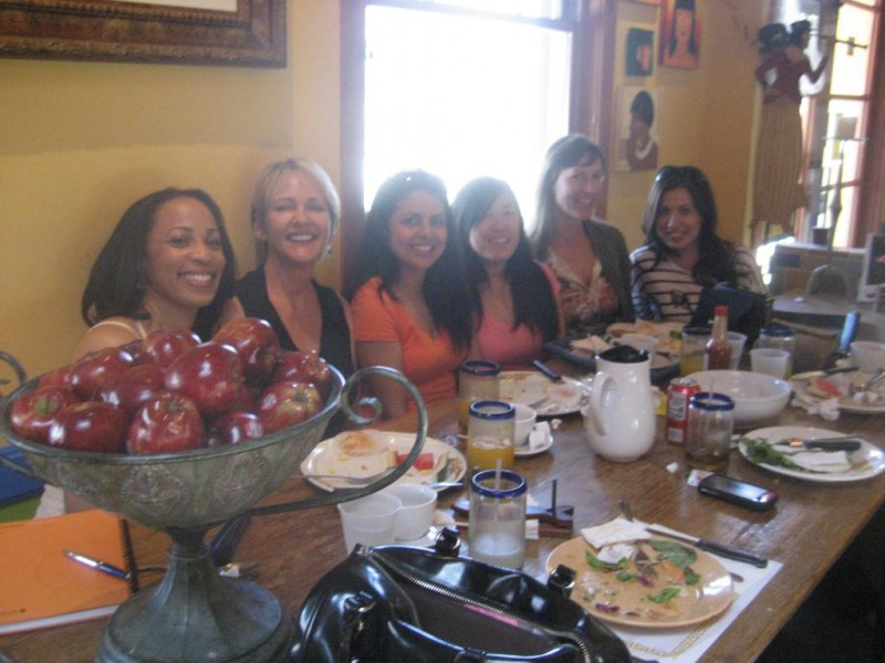 Lunch after Open HeARTs Tour