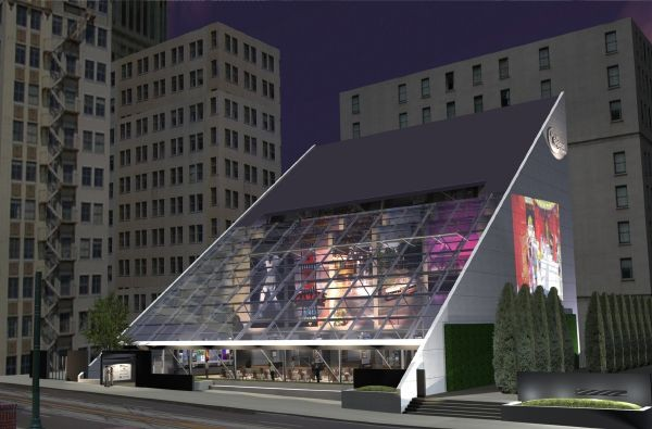 Visible School concept pic of their new campus at 200 Madison