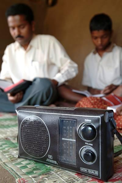 Gospel for Asia broadcasts the Gospel in 113 different Asian languages.