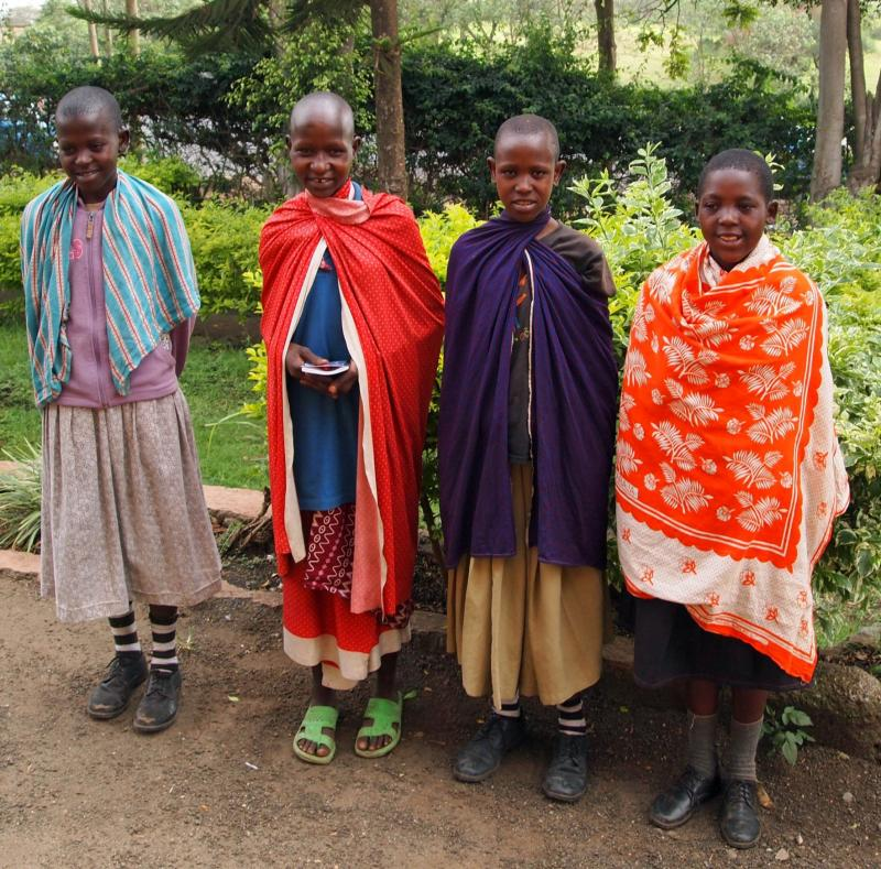 Some of our Maasai scholarship students