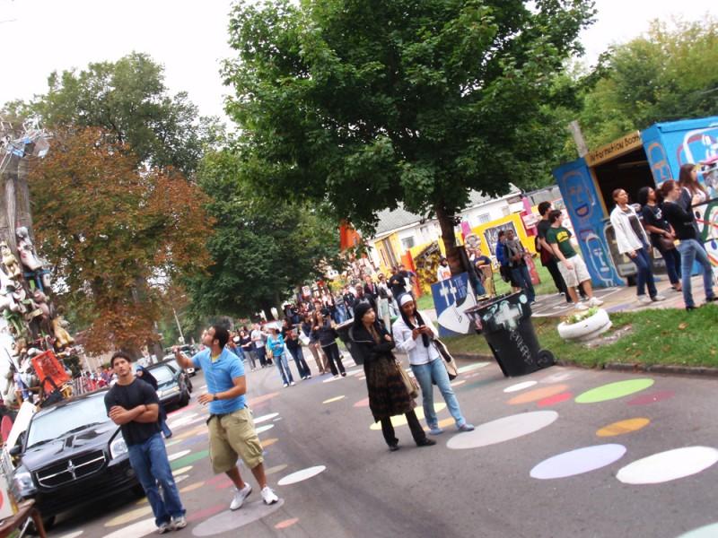 WSU Honors students touring Heidelberg.