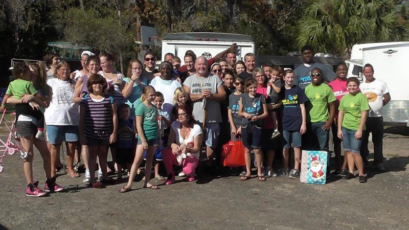 With Hope Children's Home in Tampa