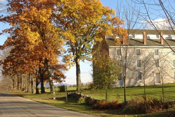 Old Stone House Museum in Fall