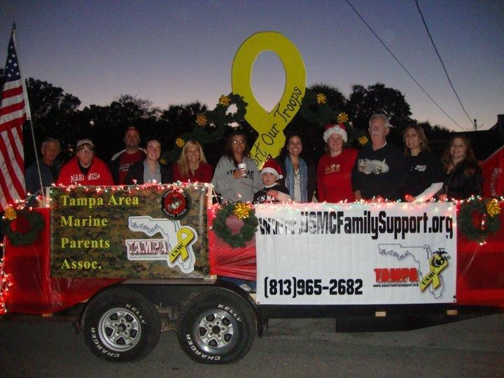 Participation in local Christmas parade