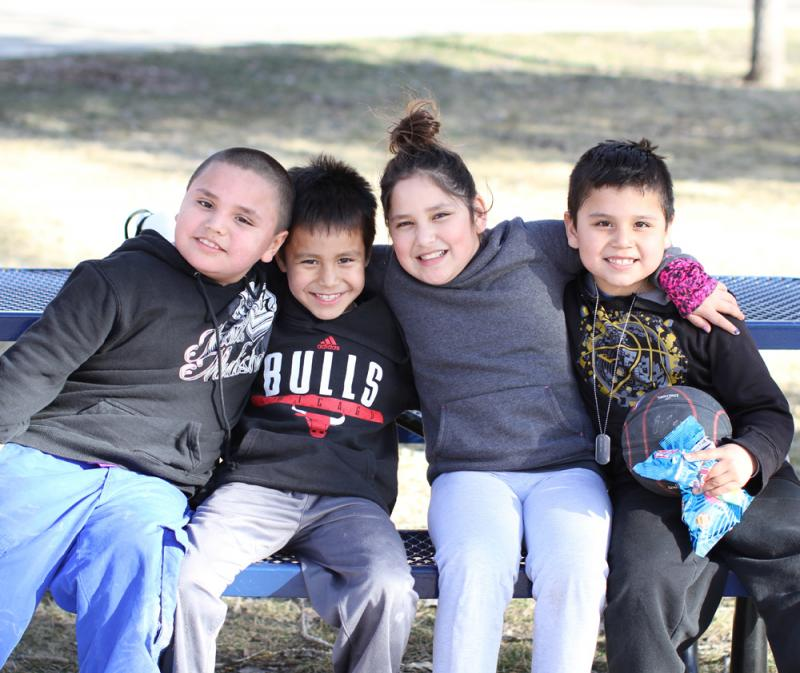 St. Joseph's Indian School serves Native American boys and girls, grades 1-12.