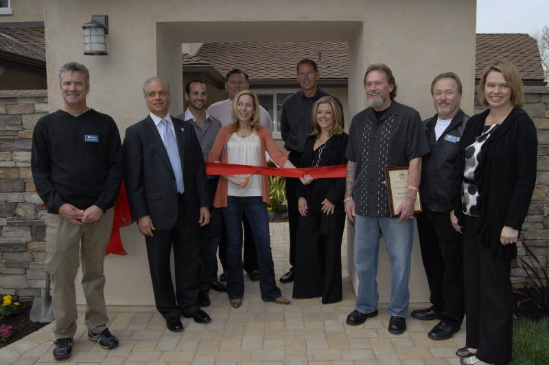 Ribbon cutting for The Teen Project Lake Forest, CA