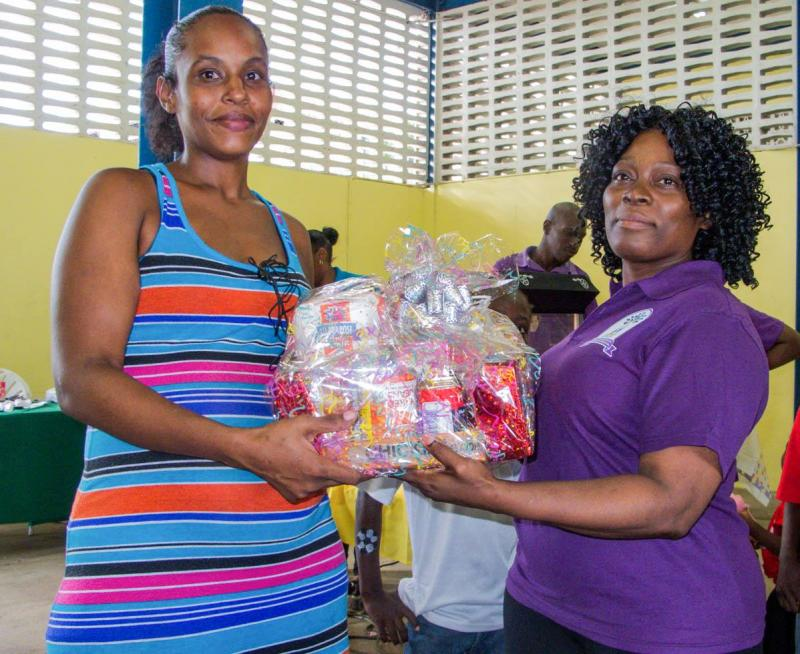 Give hampers and bay items to expecting mothers from depressed areas.