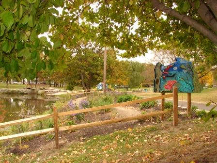 Westville Butterfly Garden 10-14-09