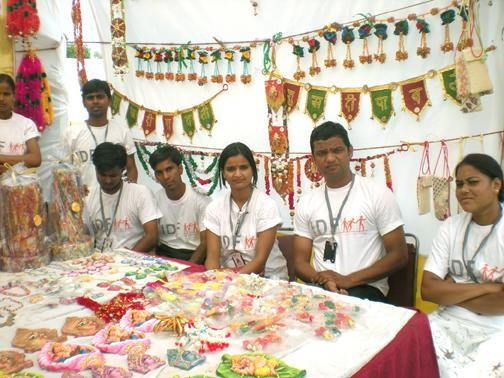 Particiaption in Handicrafts Exhibition