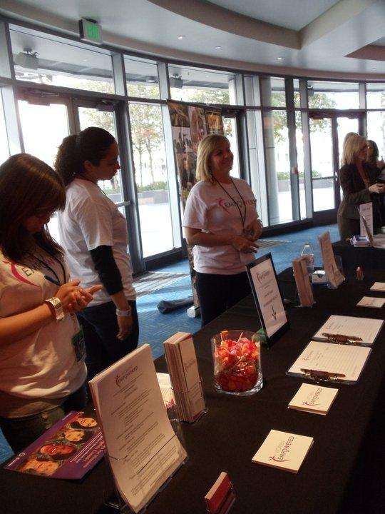 Our first trade show at the Coca Cola Enterprising Women's Network Mixer