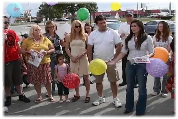 Balloon Launch for Kyla Porter - Missing -Florida
