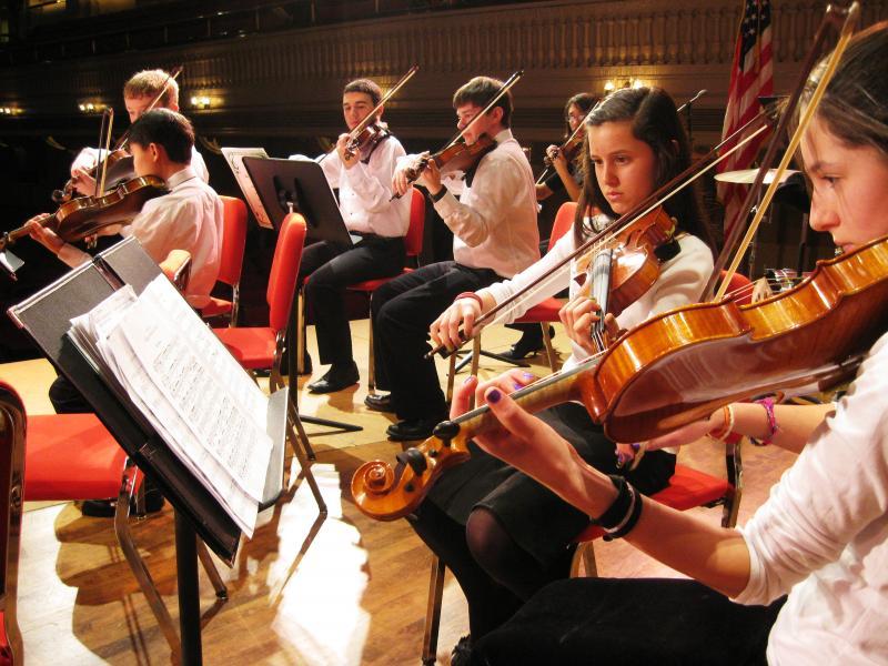 JOMP Youth Orchestra at Mechanics Hall