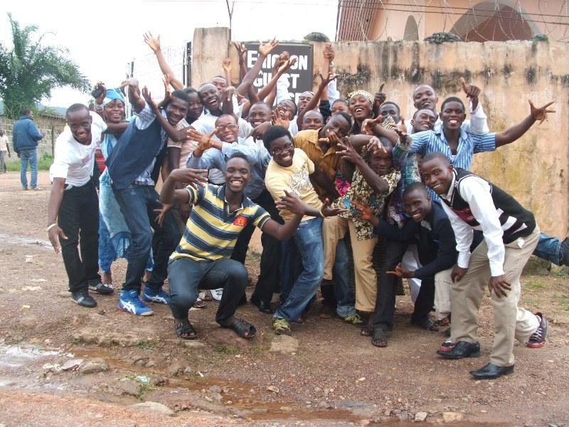 LGBT Activists in Sierra Leone after a Step-Down Training