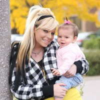 Teen Mom Danielle and her daughter Gracey Raye