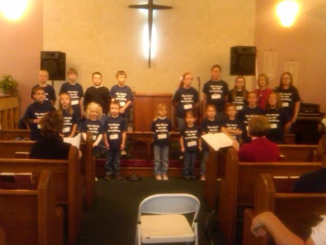 Childrens choir program