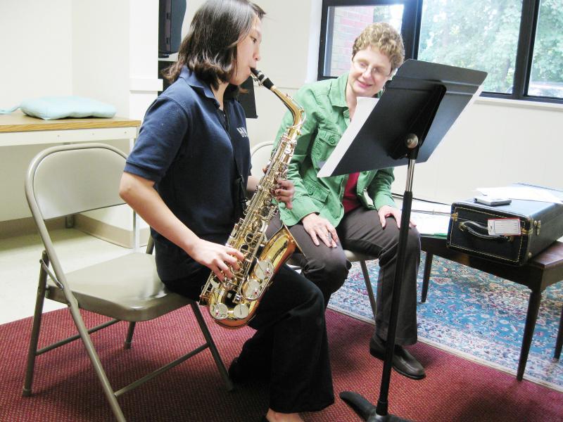 Tenor Saxophone Lesson