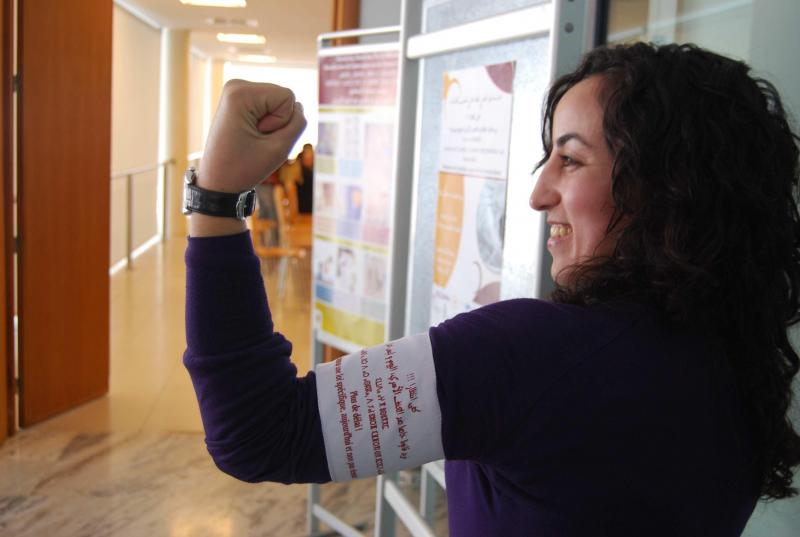 Activist in Morocco working to pass violence against women legislation