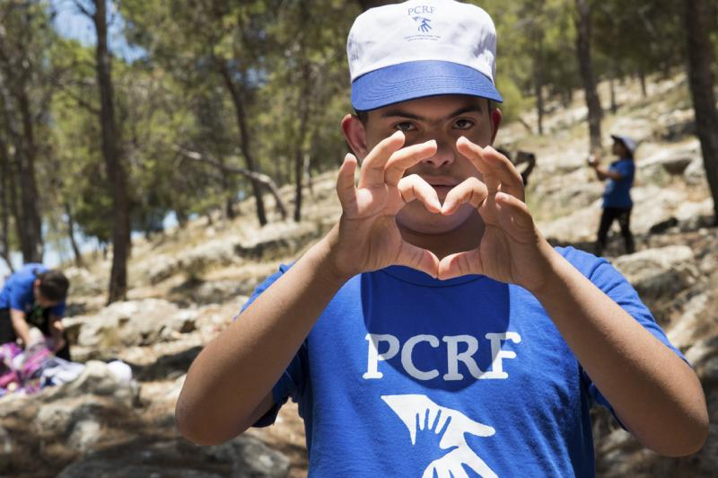 The PCRF hosts summer camps for children across the Middle East on a yearly basis.