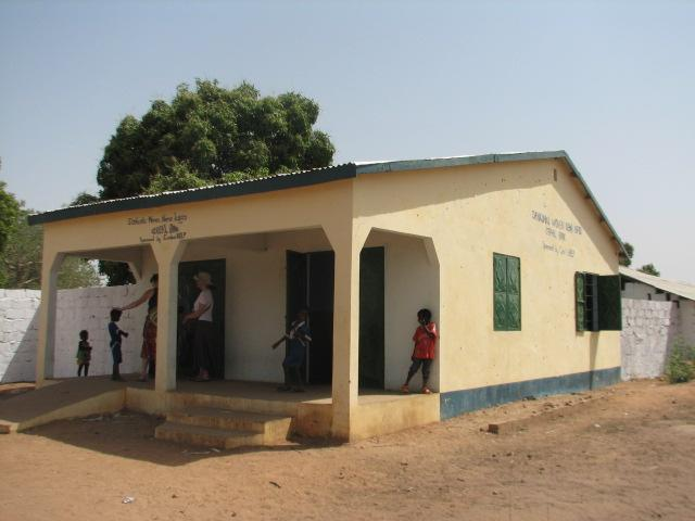Cereal Bank built in Dankunku in 2007