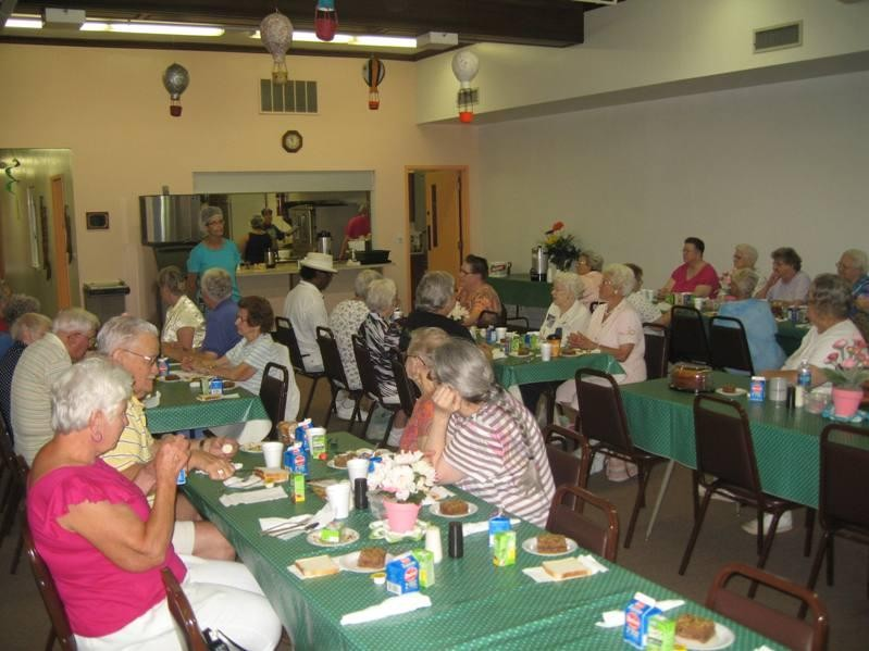 Congregate dining for seniors 60 and older is available at 14 area sites.