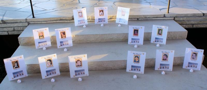 Honoring our missing loved ones
