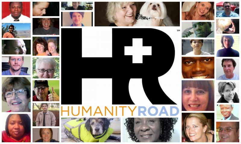 The faces of Humanity Road