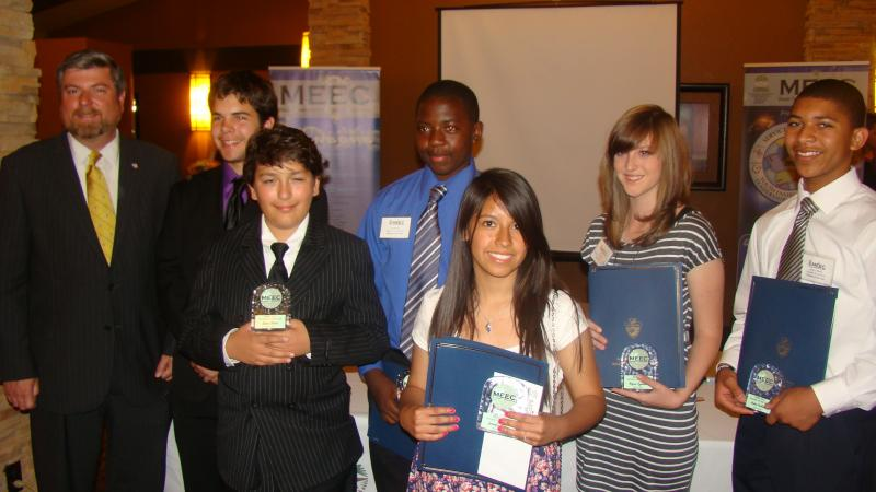 2012 Students of the Year Recognized